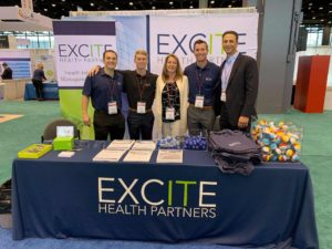 Excite Health Partners team at booth